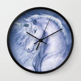 Blue Fantasia Wall Clock