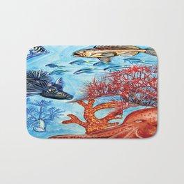 Under the sea Bath Mat