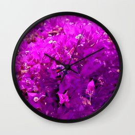 Nature is going abstract X Wall Clock