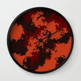 Camouflage Mars Wall Clock