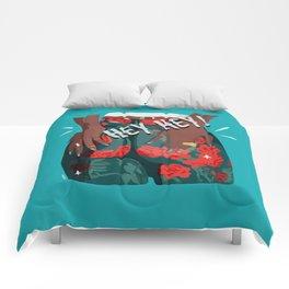 hey hey - girl power Comforters