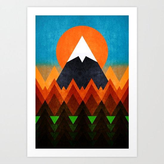 Big Mountain XCI Art Print