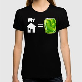 Requiem Mask - My House is Pickles! T-shirt