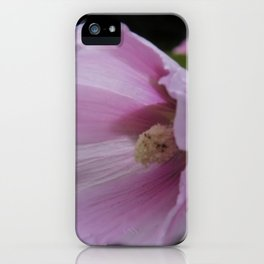 blooming on black -05- iPhone Case