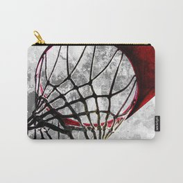 Basketball art swoosh vs 27 Carry-All Pouch