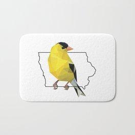 Iowa – American Goldfinch Bath Mat