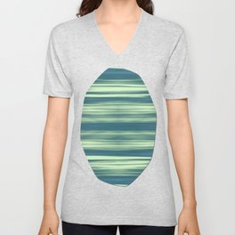 Abstraction Serenity in Afternoon at Sea Unisex V-Neck