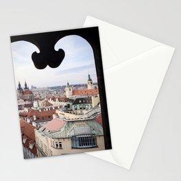 Window to Prague Stationery Cards