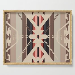 American Native Pattern No. 285 Serving Tray