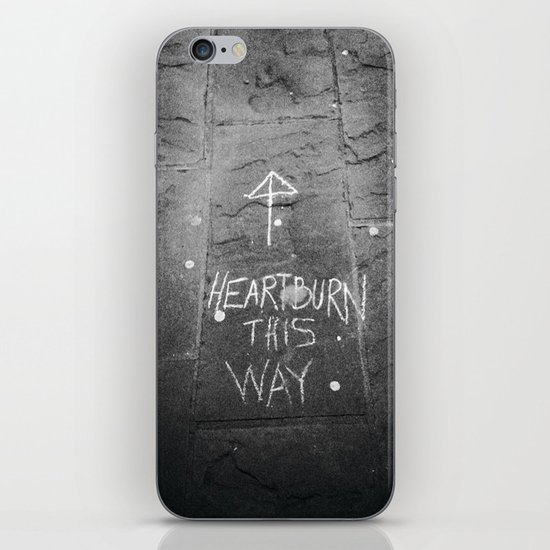 HeartBurn iPhone & iPod Skin