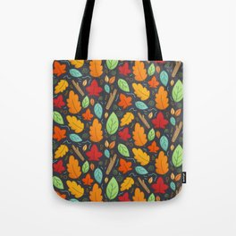 Happy Autumn pattern Tote Bag