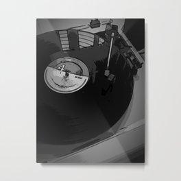 Vinyl 2 Metal Print