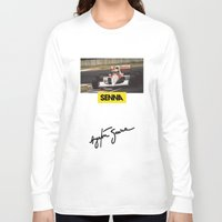 senna Long Sleeve T-shirts featuring Senna by Rassva