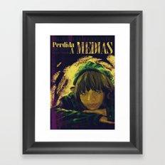 Perdida A Medias Movie Poster  Framed Art Print