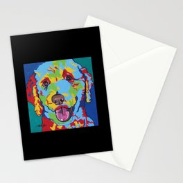 Millie the Curly Dog Stationery Cards