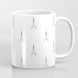 Paris Eiffel Tower Pattern Coffee Mug