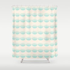 half moons Shower Curtain