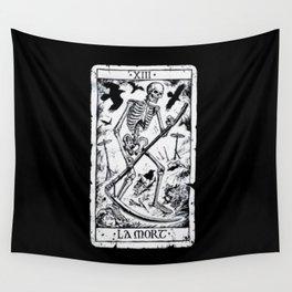 La Mort Card Wall Tapestry