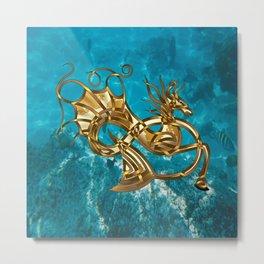 Pintocampus Metal Print