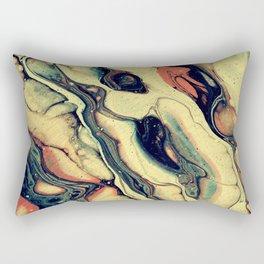 sixties vibe Rectangular Pillow