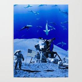 Something Strange on the Moon Poster