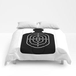 Human Shape Target Comforters