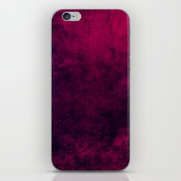 Grunge Pink iPhone Skin