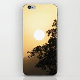 Early morning on the Shiripuno river iPhone Skin