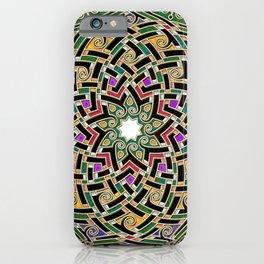 Celtic mandala iPhone Case