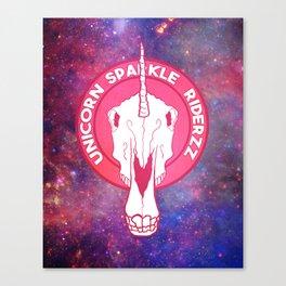 Unicorn Ridazz Canvas Print