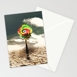 DESERT landscape with lolli pop candy Stationery Cards
