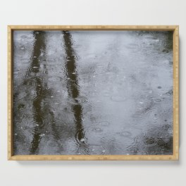 Rain Serving Tray
