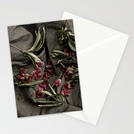 """Peonies are beautiful from the """"bud to to the end."""" Stationery Cards"""