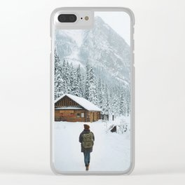 A Winter Wonderland Clear iPhone Case