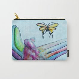 American Sign Language BUTTERFLY Carry-All Pouch