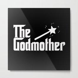 The Godmother Metal Print
