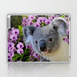 Koala and Orchids Laptop & iPad Skin