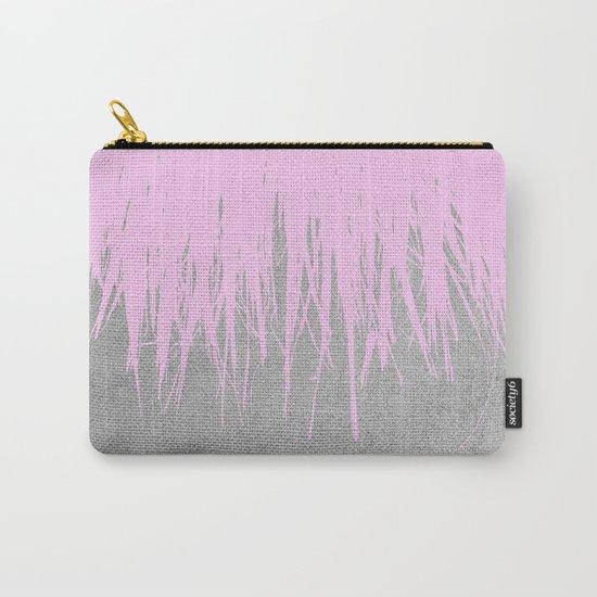 Concrete Fringe Blush Carry-All Pouch