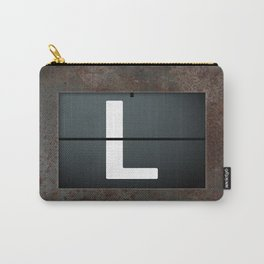 monogram schedule l Carry-All Pouch