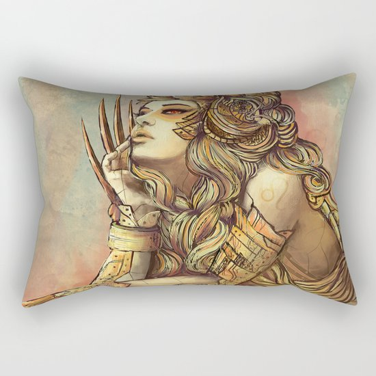 Zodiac Sign: Leo Rectangular Pillow