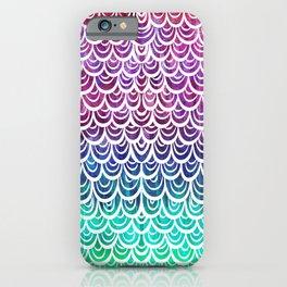 Watercolor Mermaid Alexandrite iPhone Case
