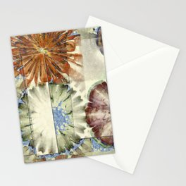 Autogenic Form Flowers  ID:16165-150817-31621 Stationery Cards