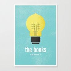 The Books Canvas Print