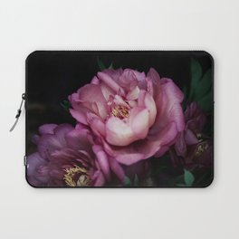 Hourly I sigh: dark pink peonies Laptop Sleeve