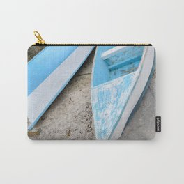 Two boats on the shore Carry-All Pouch