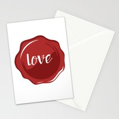LOVE WAX SEAL - Valentines Day Stationery Cards