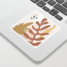 Abstract Plant Life II Sticker