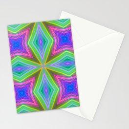 saturn 12 diamonds Stationery Cards