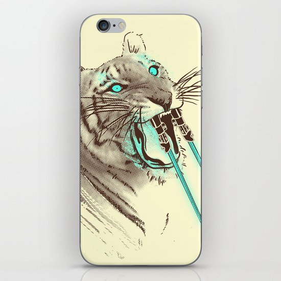Saber-toothed Tiger iPhone & iPod Skin