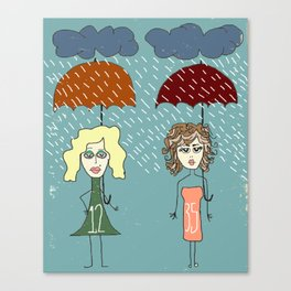 "Bob Dylan ""Rainy Day Women #12 & 35"" Canvas Print"